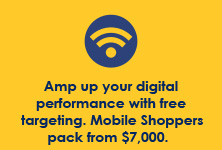 Amp up your digital performance with free targeting. Mobile impact packs from $7,000.